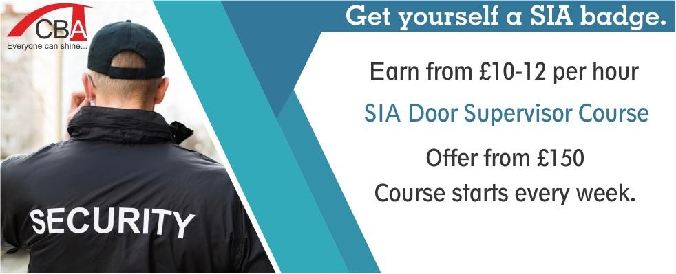 Door supervision course for Door supervisor